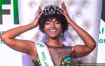 Video: Newly-Crowned Miss Africa 2018's Hair Set Ablaze Onstage