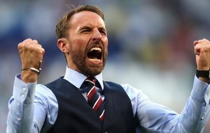 England football boss Gareth Southgate is in line for an OBE