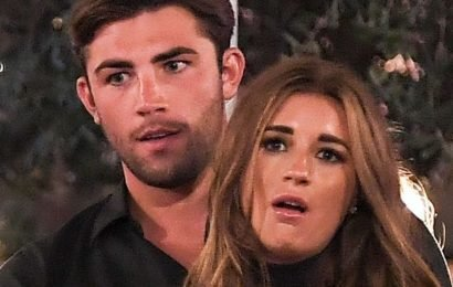 Dani Dyer and Jack Fincham had blow-up row about an iron hours before split