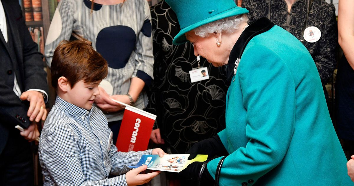 Heartwarming moment fostered boy Lewis from Finding Me A Family meets the Queen