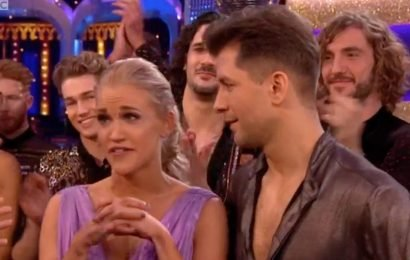 Strictly Come Dancing's Neil and Katya Jones keep distance from Seann Walsh