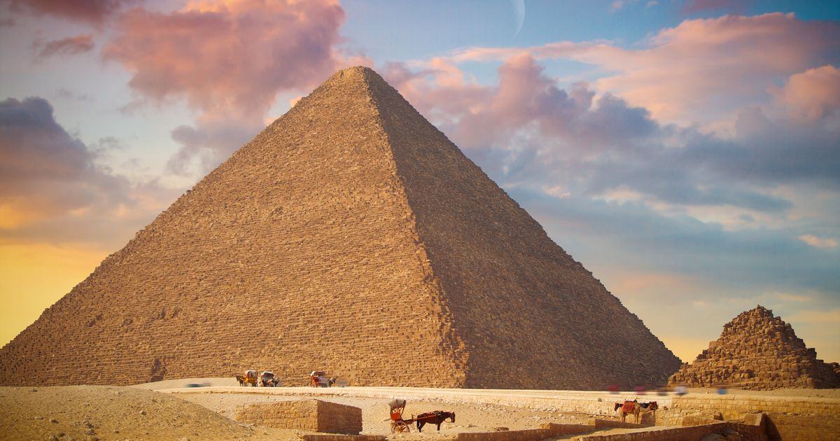 Outrage in Egypt after naked couple pictured embracing on top of Great Pyramid