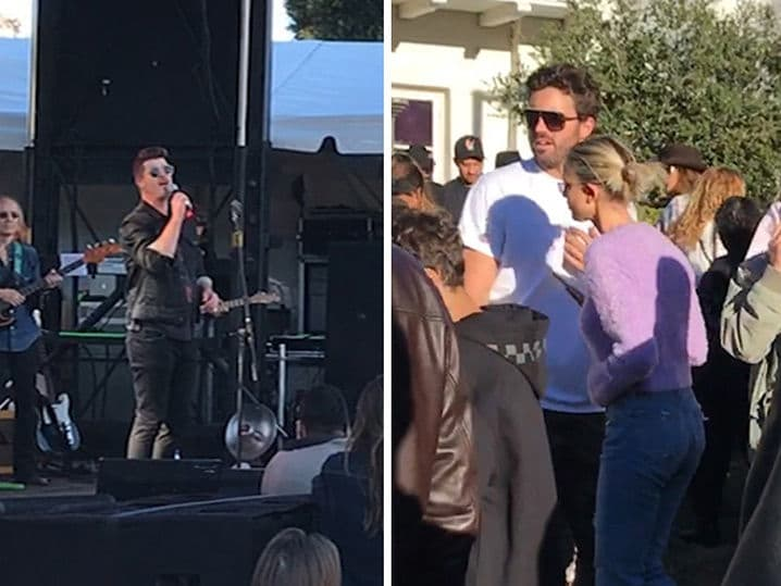 Robin Thicke Kicks Things Off at 'One Love' Malibu Benefit Concert