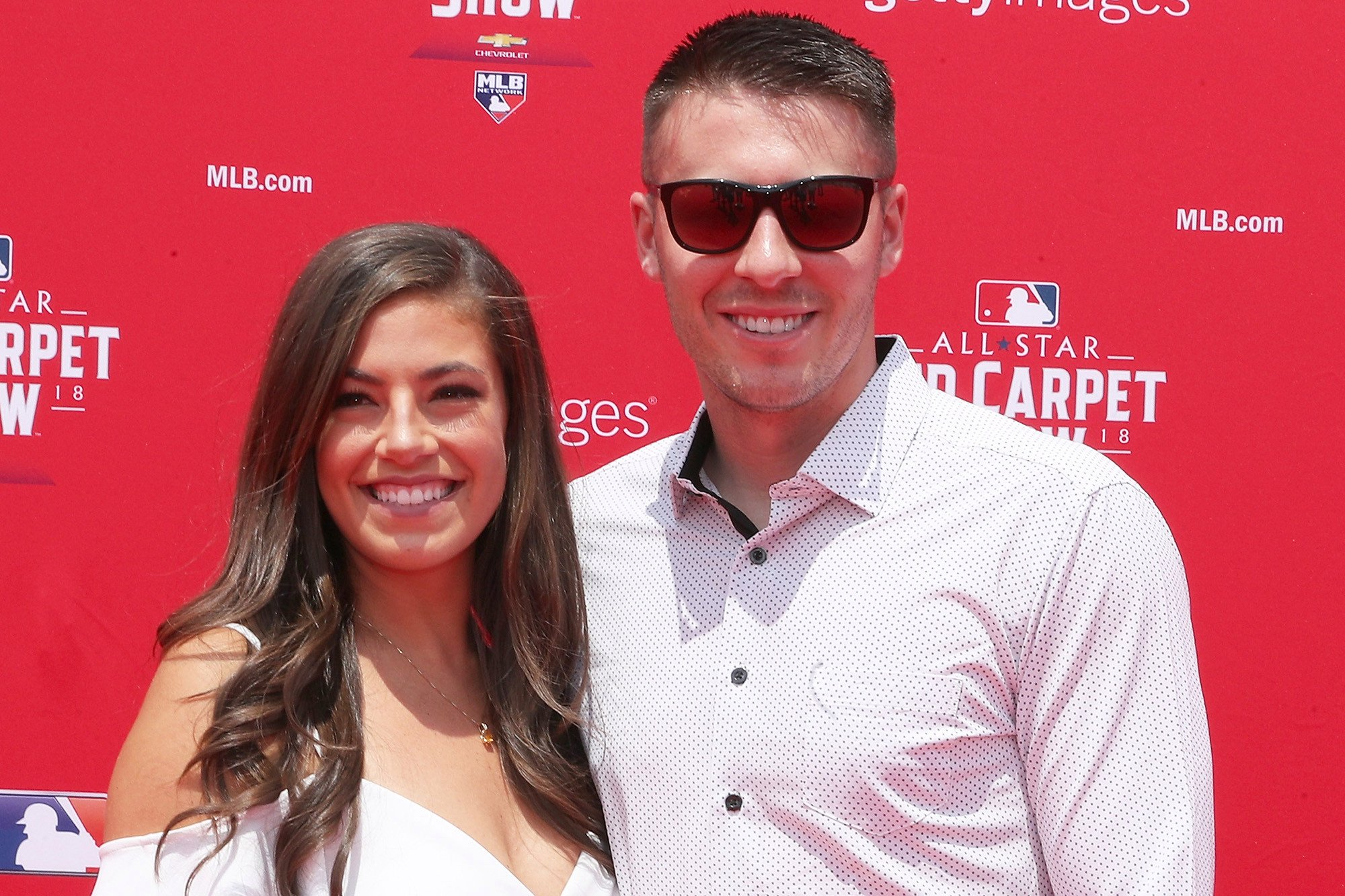How Patrick Corbin stole wife's heart before breaking Yankees'