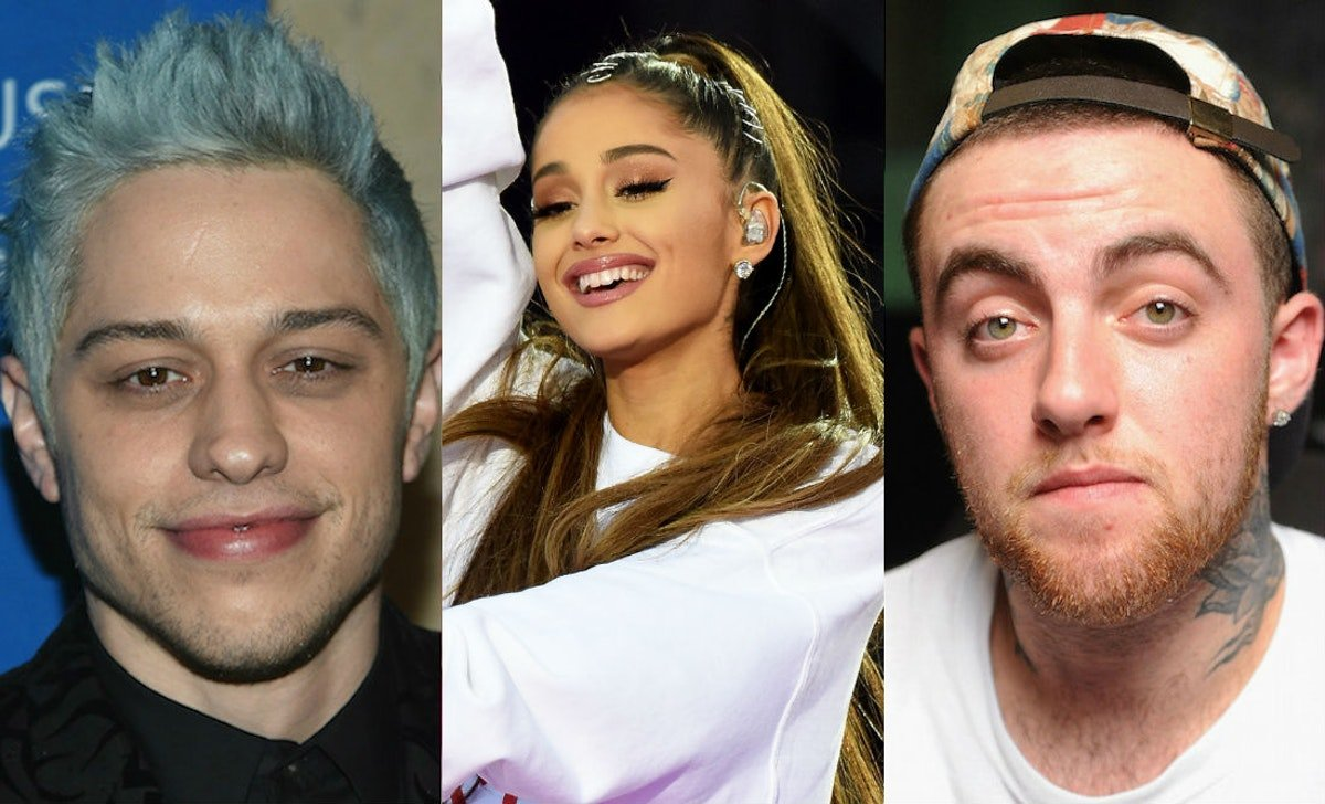 """Ariana Grande Covered Up Her """"8418"""" Tattoo For Pete Davidson With A Tribute To Mac Miller"""