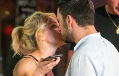 Ashley Roberts confirms Giovanni romance as they're caught kissing
