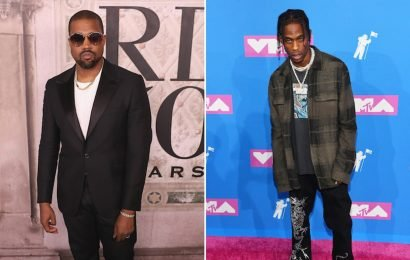 Kanye West's Tweet Accusing Travis Scott Of Threatening Him Are Truly Unexpected