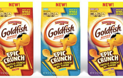 """Goldfish Is Releasing 3 New """"Epic Crunch"""" Flavors — And One Is Ranch"""