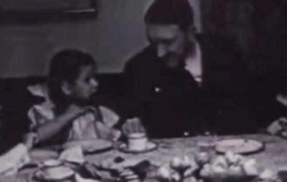How Hitler and Nazi party celebrated Christmas revealed in chilling footage