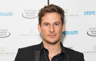 Security forced to intervene as Lee Ryan mobbed by screaming fans at Parliament