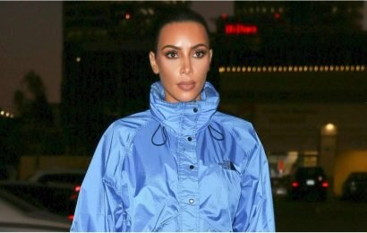 Kim Kardashian Gave a North Face Jacket a Sexy Makeover, and My College Self Is Shook