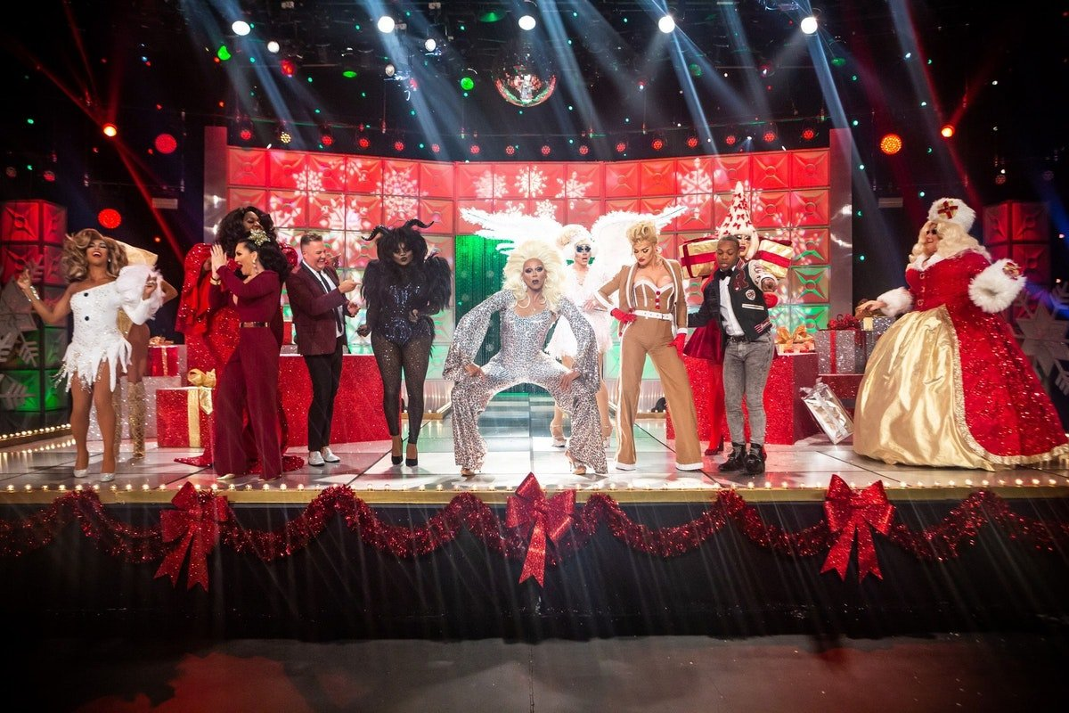 RuPaul Gave His Christmas Queens The Best Gift Of All During His First Ever Holiday Special