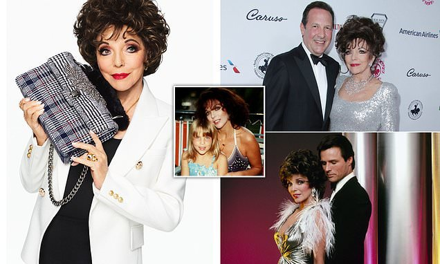 How to be a fashion icon at 85 by Joan Collins