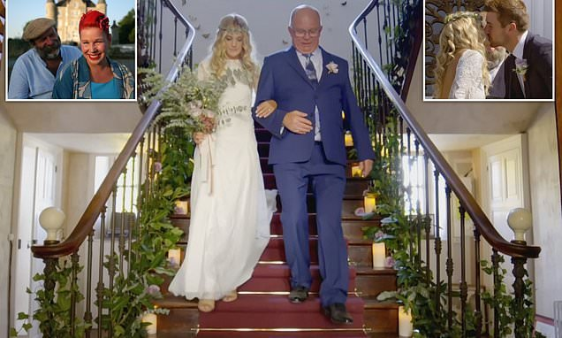 Fans gush over Escape to the Chateau as they pull off wedding