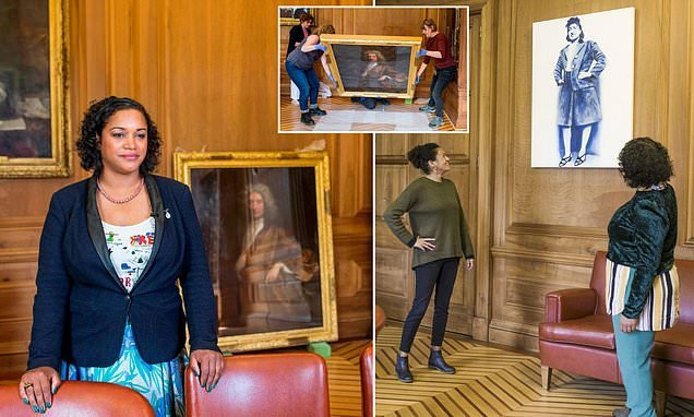 Mayor removes Gainsborough painting from office over slave trade link