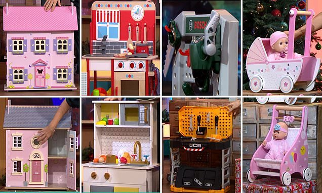 This Morning picks out budget and high-end toys for Christmas