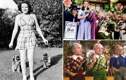 Wizard of Oz movie bosses worried Judy Garland wasn't good fit