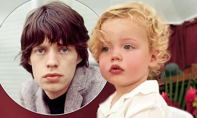 Mick Jagger's son Deveraux is the SPITTING IMAGE of the rocker