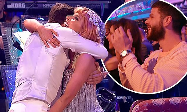 Strictly Come Dancing: Stacey Dooley grabs Kevin Clifton's BUM