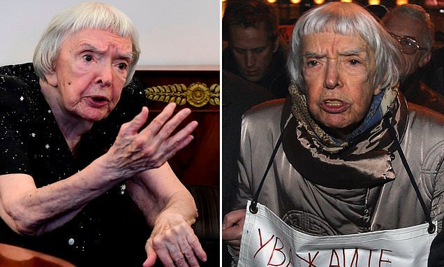 Russian rights activist Lyudmila Alexeyeva  dies at the age of 91