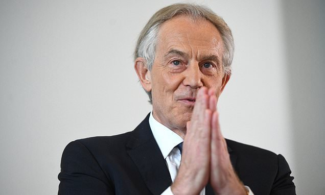 Tony Blair 'told government officials to keep post-No.10 work secret'