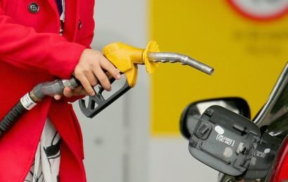 Petrol prices fall by 5p a litre