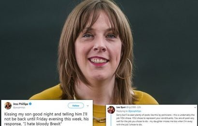 Labour MP reveals her young son said he 'hates bloody Brexit'
