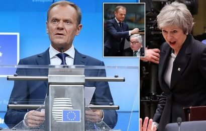 Non means NON! Juncker tears up May's ideas for Brexit concessions