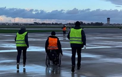 Toulouse airport is closed after disabled protesters storm the runway
