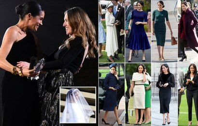 Meghan emulates Audrey Hepburn in outfits – with help from British mum