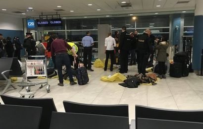 Bomb scare sees passengers evacuated off flight from Manchester