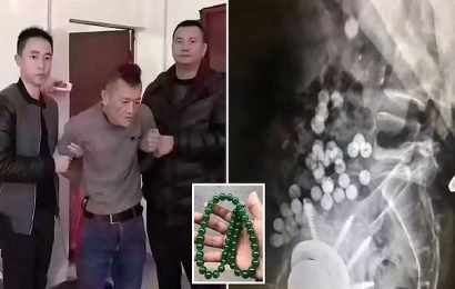 Man steals jade necklace, swallows the beads to avoid being caught