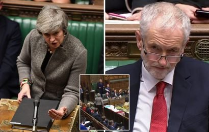 May dares Corbyn: No10 rebuffs Labour leader's no confidence feint