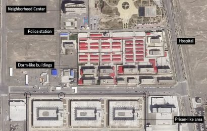 US sportswear traced to factory in China's Muslim internment camps