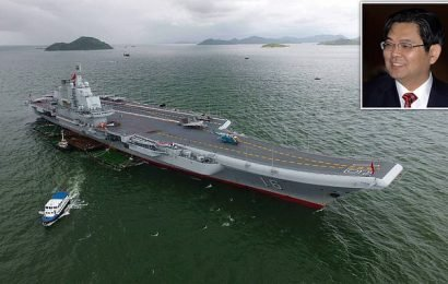China's aircraft carrier boss could face death penalty for spying