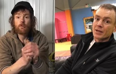 Homeless drug addict,totally transforms after four weeks in a shelter