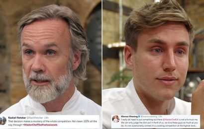 MasterChef The Professionals' Marcus Wareing denies show is FIXED