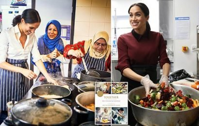 Meghan Markle's charity cookbook is nominated for food book prize