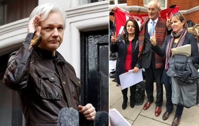 Julian Assange's father says 'it is time for this torment to end'