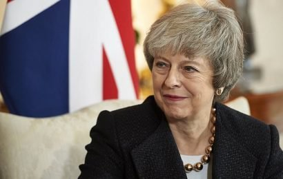 Theresa May is to host New Year's party at Downing Street