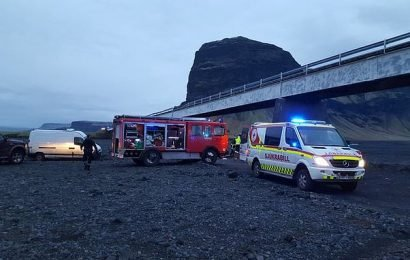 3 Britons killed and 4 injured after SUV plunges off bridge in Iceland