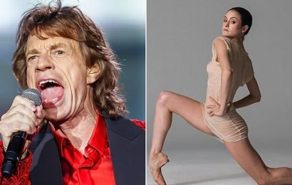 Sir Mick Jagger and his dancer lover create a Rolling Stones ballet
