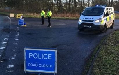 Minibus carrying 'at least 20' people overturns in Scottish Borders