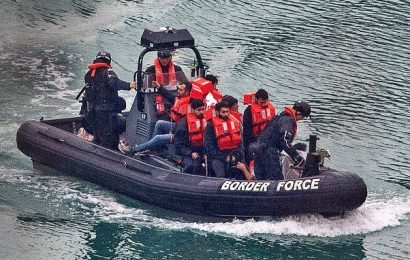 Ruthless traffickers take migrants only halfway across the Channel