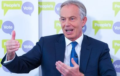 ANDREW PIERCE: Tony Blair is the star turn at fundraiser