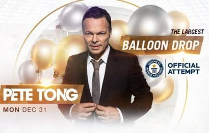 Pete Tong's plan to drop balloons at New Year party cancelled
