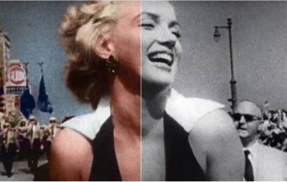 For the First Time Ever, See Rare Black-and-White Footage of These Hollywood Icons in Color
