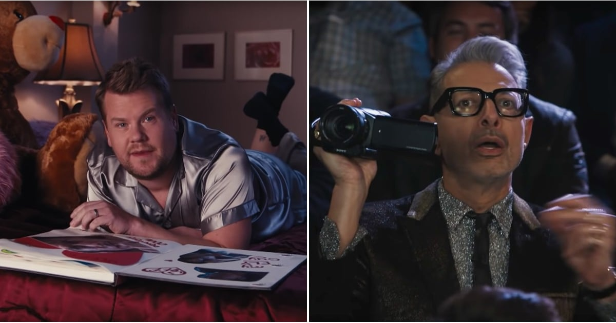"James Corden Confesses His Love For Jeff Goldblum in Hilarious ""Thank U, Jeff"" Tribute"