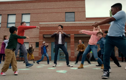 Watch Henry Golding Dance With Cute Kids In This Deleted 'Simple Favor' Scene