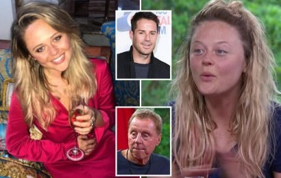 Harry Redknapp says Emily Atack looks 'very useful' now she's 'scrubbed up' but wouldn't have a chance with son Jamie with no make-up after I'm A Celeb
